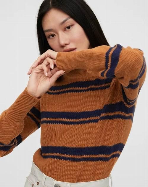 白菜价!GAP精选女士毛衣、开衫 4.4折 +额外5折 ,折后低至15加元起特卖!羊毛毛衣 34.97加元