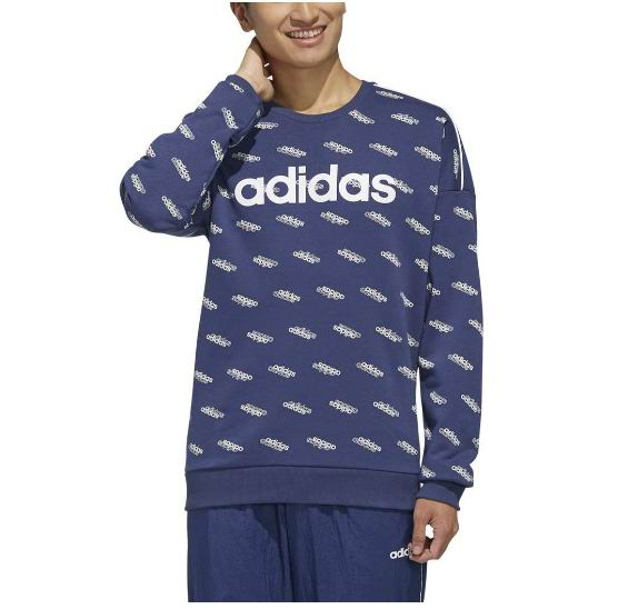 Adidas 长款Logo印花套头衫 6.5折 23.79加元(M码),原价 36.82加元
