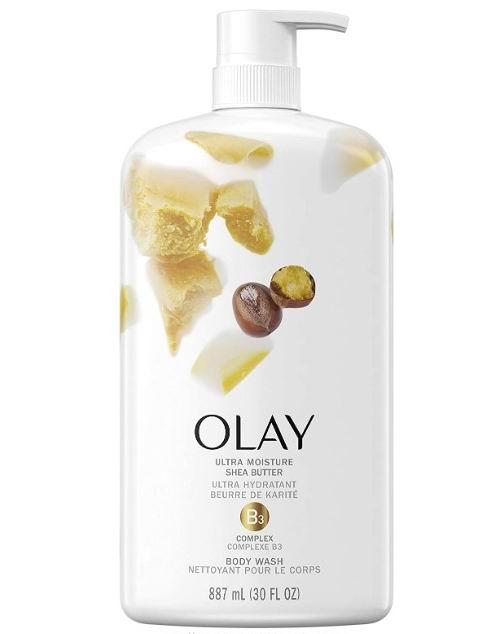 Olay 玉兰油保湿乳木果沐浴露887毫升 9.47加元,多种味道可选!