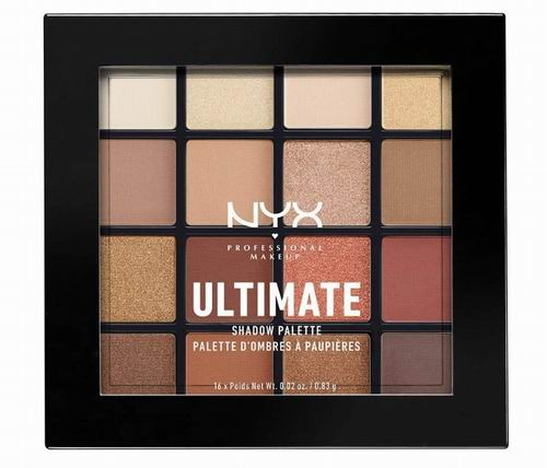 NYX  Ultimate Warm Neutrals 16色眼影盘 17.77加元,原价 21.6加元