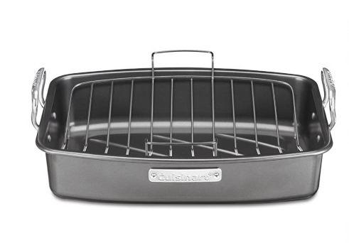 CUISINART 17x13英寸不黏烤盘带可移动烧烤架 42.64加元,原价 69.99加元,包邮
