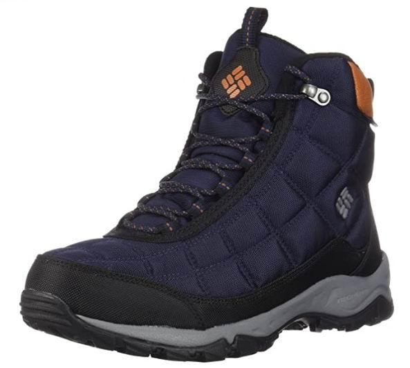 Columbia Firecamp男士防水短靴 73.63加元,原价 130加元,包邮