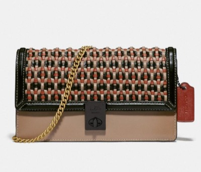 Coach官网精选美包、秋冬外套、鞋靴4折起+满送价值60加元卡包,入托特包、Rambler、Parker、Hutton、Troupe系列手袋!