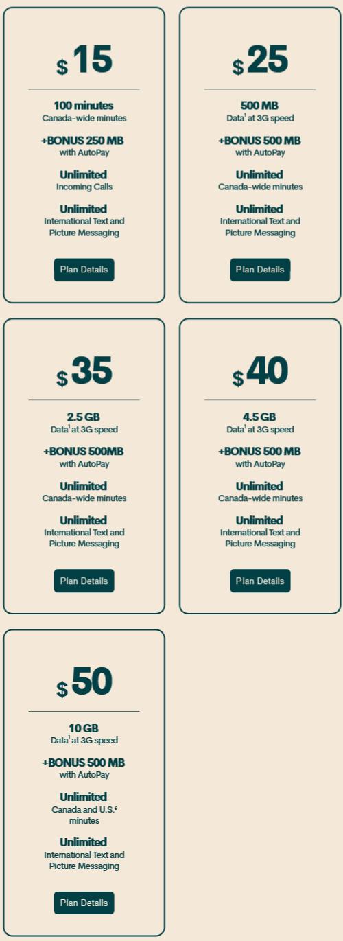 Public Mobile 手机SIM卡5折 5加元!