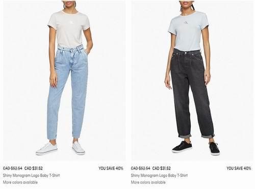 Calvin Klein官网大促!折扣区时尚服饰6折起!内衣7.5折