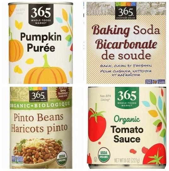 精选 365 Everyday Value 非转基因蔬菜零食、食品 1.99加元起特卖!