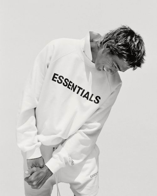 补货!Fear of God的副线品牌!Essentials 街头潮款卫衣、运动衫、T恤55加元起!抓绒卫衣144加元