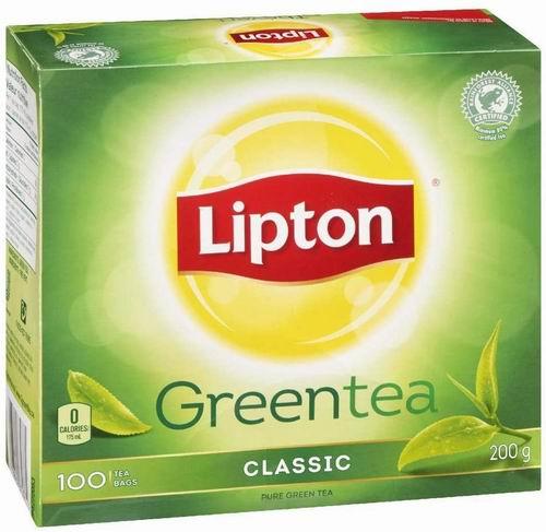 Lipton 绿茶100袋 4.25加元,原价 6.62加元