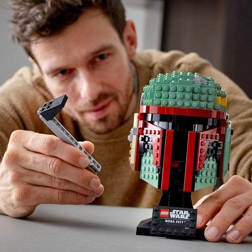 新品 LEGO 星球大战系列 75277 波巴·费特头盔 8.3折 69.98加元