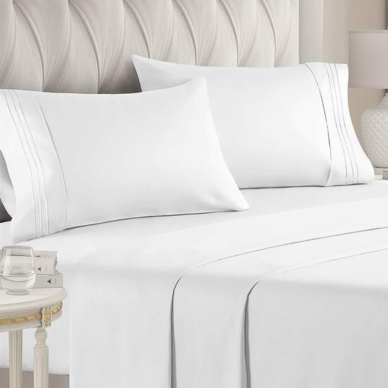 金盒头条:精选多款 CGK Unlimited 床单套装、枕套套装、床垫套等7.7折起!
