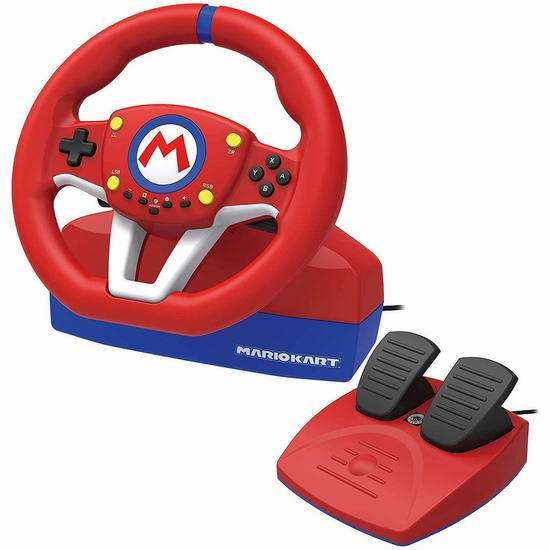 HORI Nintendo Switch Mario Kart 马里奥赛车方向盘 89.96加元包邮!