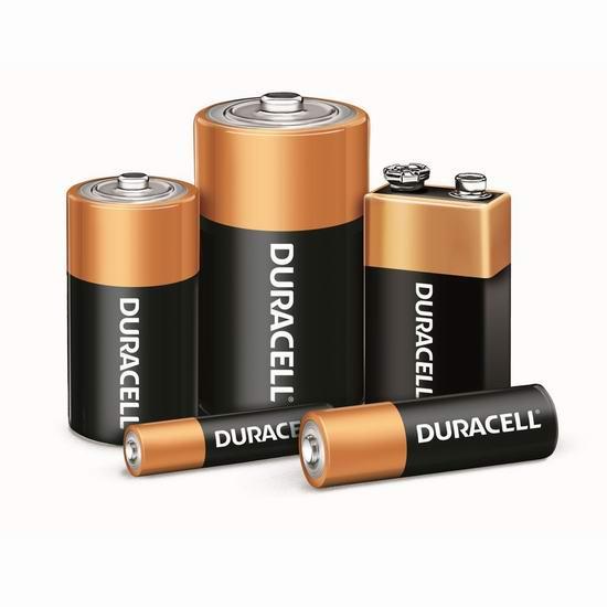 金盒头条:精选多款 Duracell 金霸王 碱性电池/锂电池/纽扣电池6.9折起!