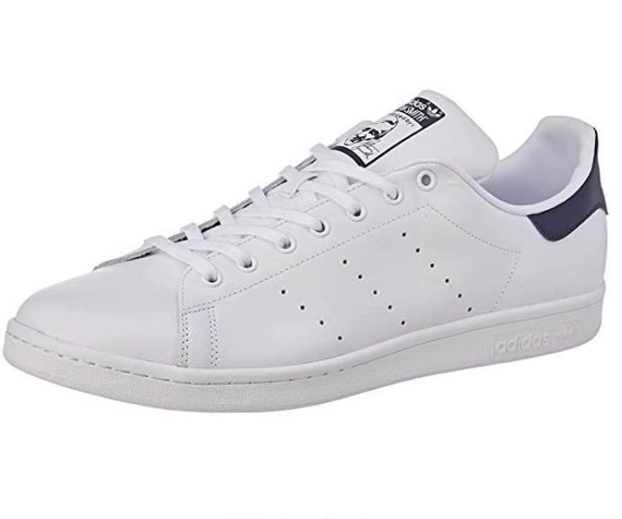 白菜价!adidas Stan Smith男士蓝尾小白鞋 35.44加元(4码),原价 110加元,包邮