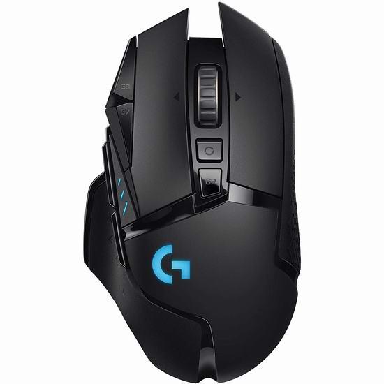 Logitech 罗技 G502 LIGHTSPEED 无线游戏鼠标7.5折 149.99加元包邮!