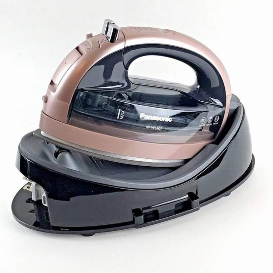 历史新低!Panasonic 松下 360º Freestyle 无线蒸汽熨斗5.8折 69.99加元包邮!2色可选!