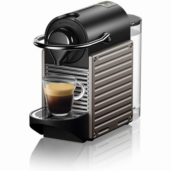 Nespresso Pixie 胶囊咖啡机及奶泡机 7折 173-188加元包邮!多款可选!