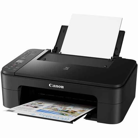 Canon 佳能 PIXMA TS3320 无线多功能一体彩色喷墨打印机5.5折 54.99加元包邮!
