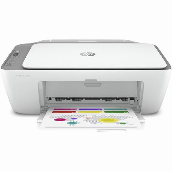 HP 惠普 DeskJet 2755 多功能一体无线彩色喷墨打印机 79.99加元包邮!支持Alexa语音控制!