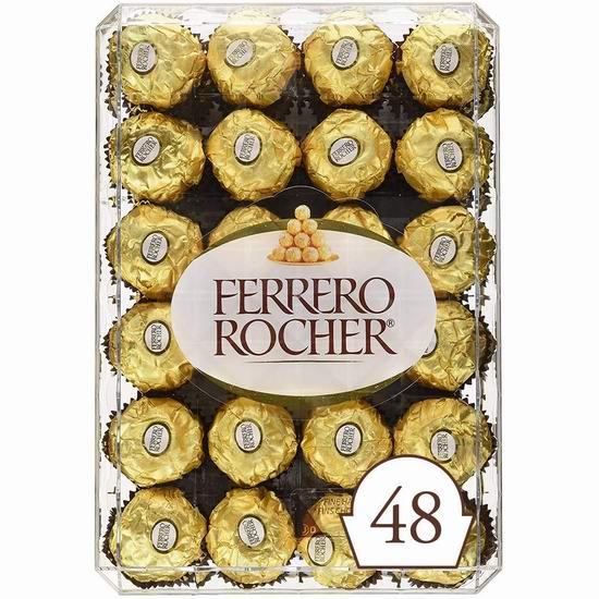 金盒头条:精选多款 Ferrero、Kinder 等品牌巧克力糖果3.9折起!