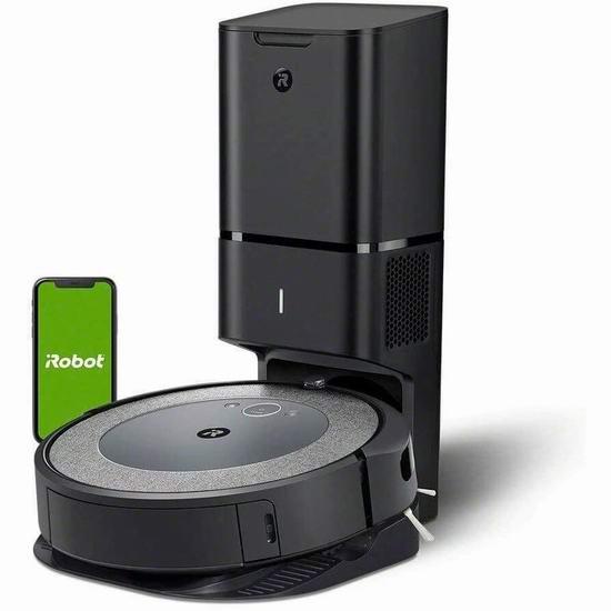 补货!历史新低!iRobot Roomba i3+ (3550) 智能扫地机器人 549.99加元包邮!自动倒垃圾,真正解放双手!