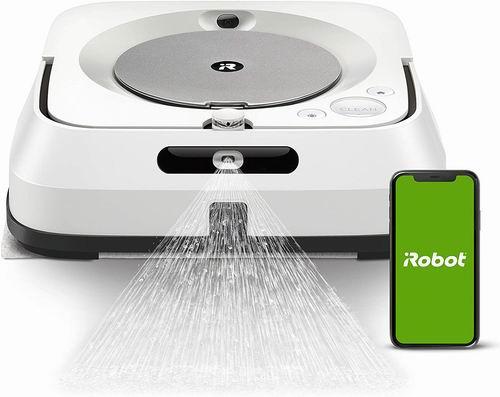 历史最低价!iRobot Braava Jet M6 擦地机器人 7.7折 499.99加元包邮!