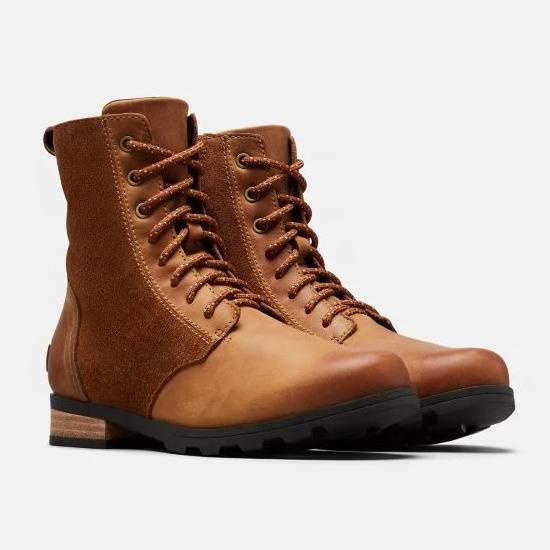 今日闪购:Sorel 加拿大冰熊 EMELIE 女式短靴5折 95加元包邮!