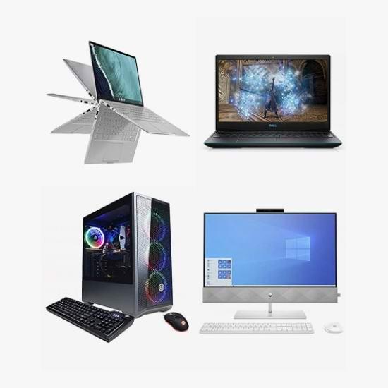精选 HP、ASUS、MSI、ROG、Acer 等品牌笔记本电脑、游戏本、台式机、一体式台式机5.7折起!低至599加元!
