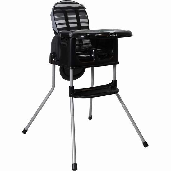 历史最低价!Cosco Sit Smart 四合一 婴幼儿高脚餐椅 69.99加元包邮!