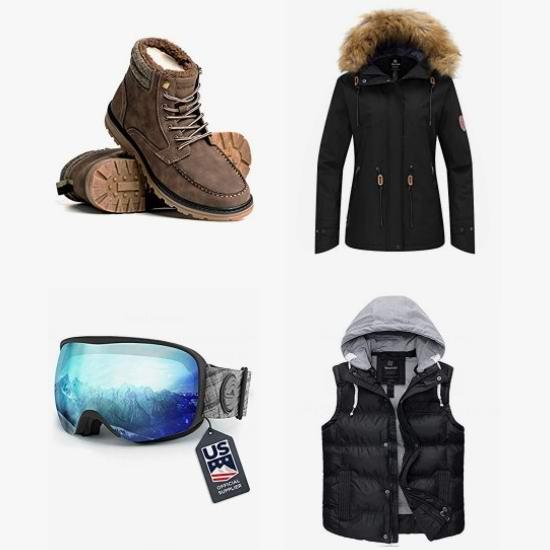 黑五头条:精选 Wantdo、Boathouse 等品牌男女防寒服、滑雪服、雪地靴、滑雪镜6.4折起!