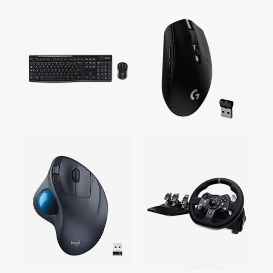 黑五头条:精选大量 Logitech、Razer、HyperX 游戏鼠标、键盘、游戏耳机、遥控器、音箱、游戏方向盘、背包等3.7折起!