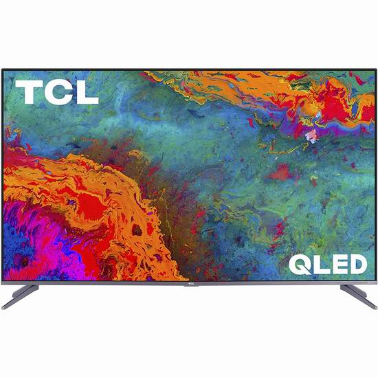 历史新低!新品 TCL 5系 50S535-CA 50/55英寸 4K超高清 QLED智能电视 439.99-499.99加元包邮!