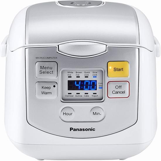 历史新低!Panasonic 松下 4杯量 微电脑智能电饭煲5.9折 79.99加元包邮!