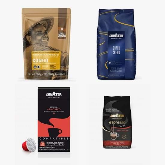 网购周头条:精选 Lavazza、Level Ground 咖啡豆、咖啡粉、咖啡胶囊6折起!