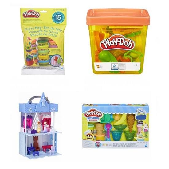网购周头条:精选 Play-Doh 培乐多 橡皮彩泥、Disney 公主玩具5.6折起!售价低至5.59加元!
