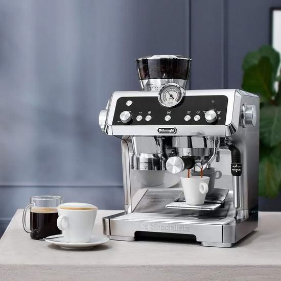 历史新低!DeLonghi 德龙 EC9335M La Specialista 感应研磨 智能压粉 泵压式咖啡机 699.99加元包邮!荣获红点大奖!京东同款7680元!