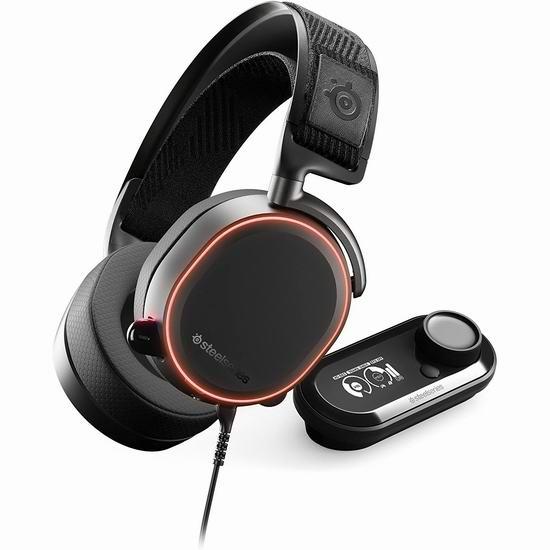 网购周头条:历史新低!SteelSeries 赛睿 Arctis Pro GameDAC  寒冰 专业级麦克风游戏耳机6.2折 199.95加元包邮!2色可选!