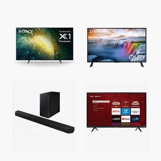 网购周头条:精选 TCL、Samsung、Sony 品牌智能电视、电视音响5.9折起!