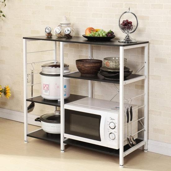 sogesfurniture 三层 厨房收纳桌 63加元限量特卖并包邮!2色可选!
