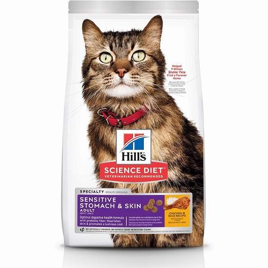 金盒头条:历史新低!Hill's Science Diet 希尔思 营养猫粮(7磅) 27.67加元包邮!