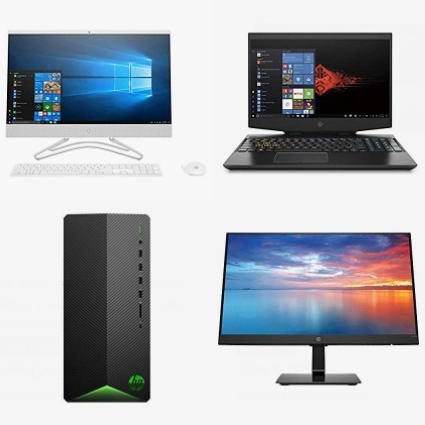 金盒头条:精选多款HP 惠普台式一体机、台式机、笔记本电脑、显示器7.7折起!仅限今日!