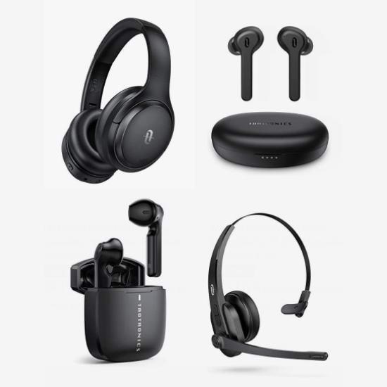 金盒头条:精选5款 TaoTronics 真无线耳机、主动降噪头戴式蓝牙耳机、无线耳机6.2折起,低至36加元!