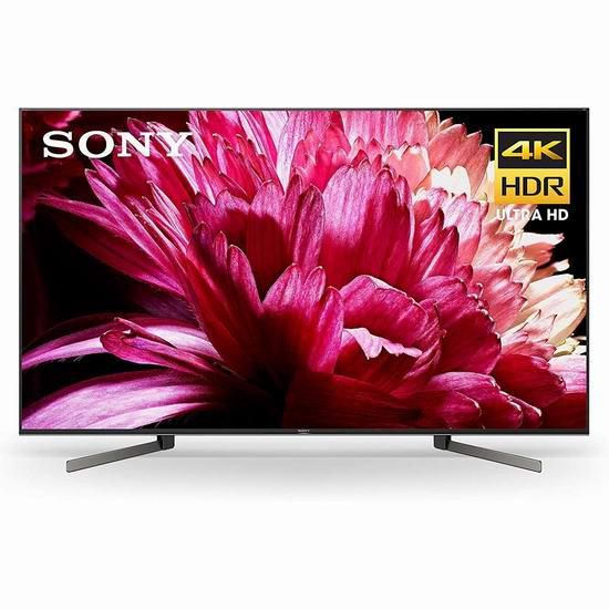 历史新低!Sony 索尼 85X950G 85寸 4K超高清智能电视5折 3499.95加元包邮!