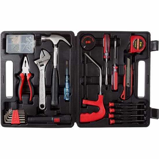 历史新低!Stalwart 75-HT1065 家用工具65件套4.8折 24.75加元!