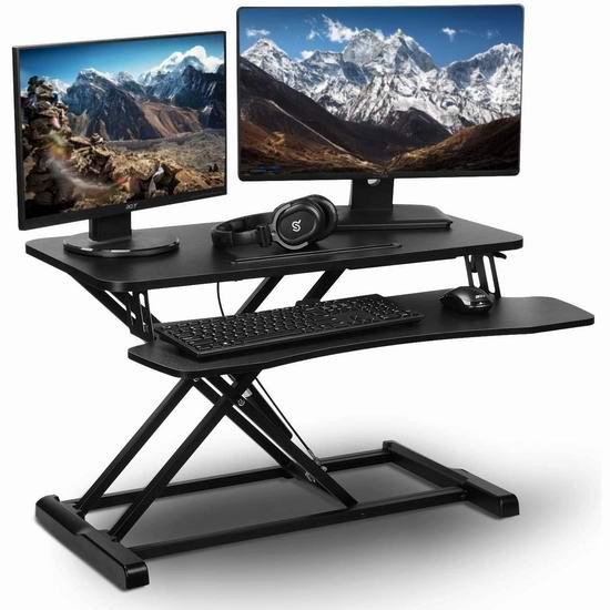 PrimeCables 32英寸 可调高 显示器/笔记本电脑 支架 159.99加元包邮!