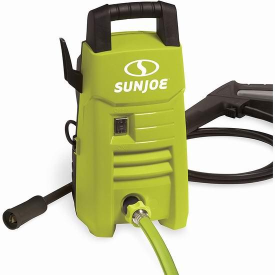 Sun Joe SPX201E 1350 PSI 电动高压清洗机 98.98加元包邮!