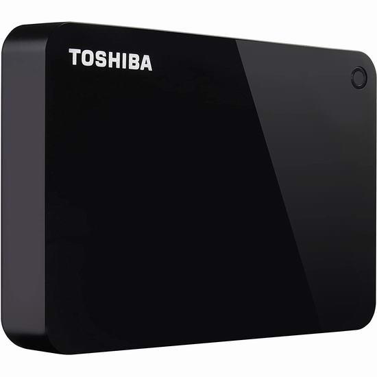金盒头条:历史新低!Toshiba 东芝 Canvio Advance 2TB/4TB 超便携移动硬盘 79.99-104.99加元包邮!