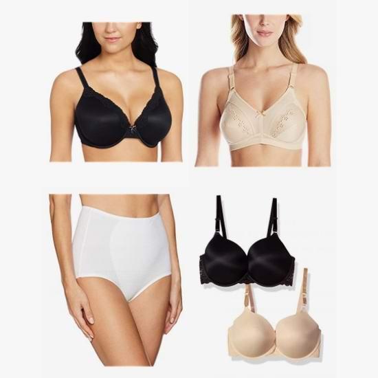 金盒头条:精选 Wonderbra、Warners 女式文胸、内裤等3.8折起!低至9.99加元!