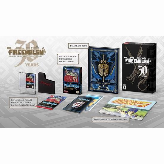 新品预售:《Fire Emblem 火焰纹章:暗黑龙与光之剑》30周年纪念版 Nintendo Switch游戏 64.99加元包邮!