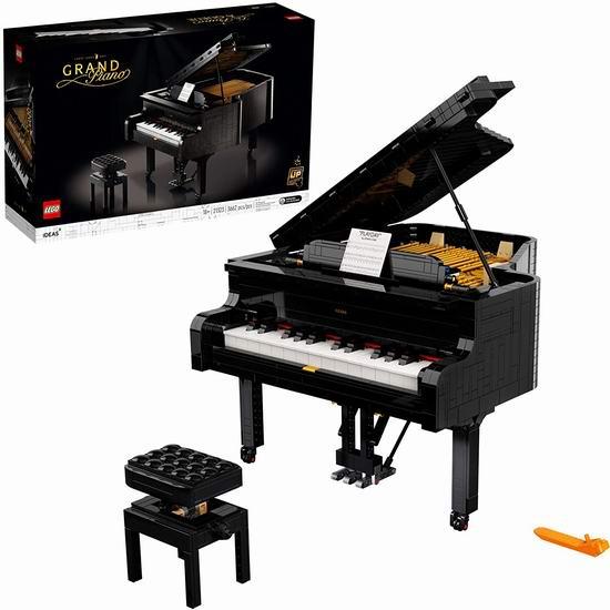 LEGO 乐高 21323 创意百变系列 可弹奏 经典三角钢琴(3662pcs)449.99加元包邮!