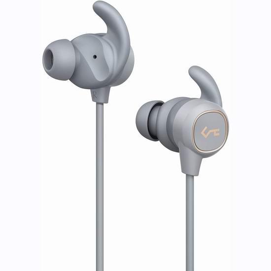 白菜价!历史新低!AUKEY B60 蓝牙无线 重低音 运动耳机2.6折 18.99加元包邮!8小时续航!2色可选!